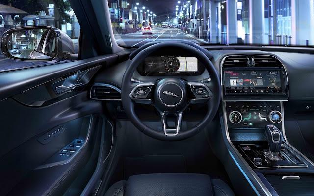 Novo Jaguar XE 2020 - Brasil - interior