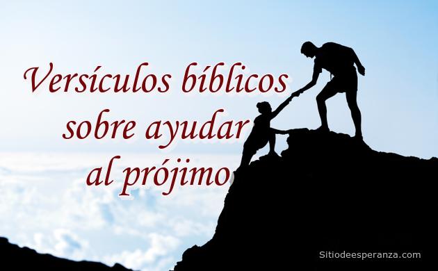 Ayudar al prójimo en la Biblia