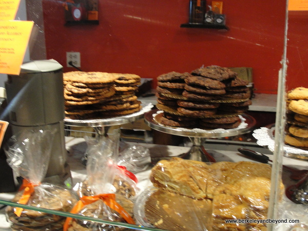 cookies and candies at Jacques Torres Chocolate Haven in NYC