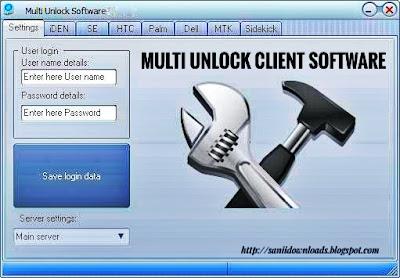 Multi Unlock Client Software Latest Version Full Setup Free Download
