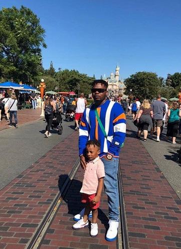 Olamide Takes His Son To Disneyland [Photos]