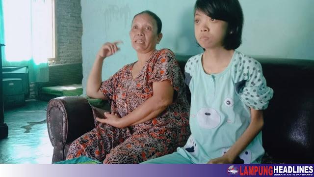 Gadis Remaja Dalam Balutan Kulit Dan Tulang Butuh Perhatian Pemkab Tanggamus, Derita Sakit Komplikasi