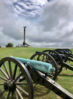 Cannons at Antietam battlefield.