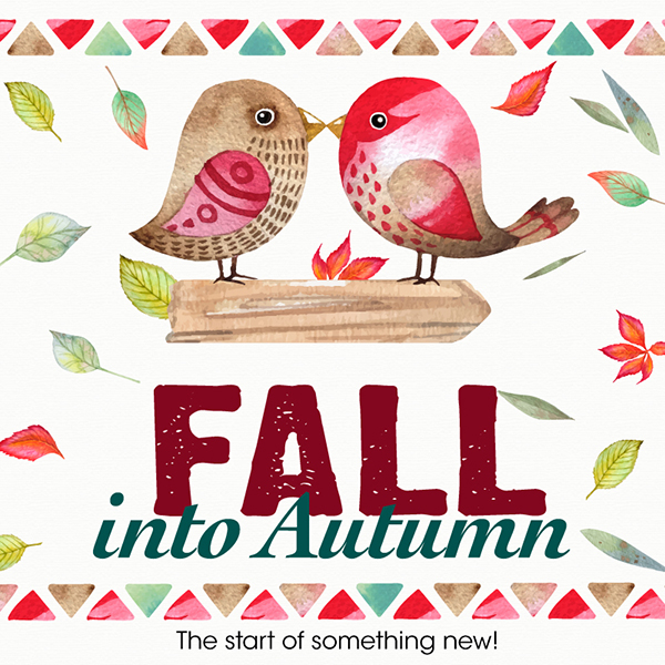 Fall Into Autumn: The start of something new