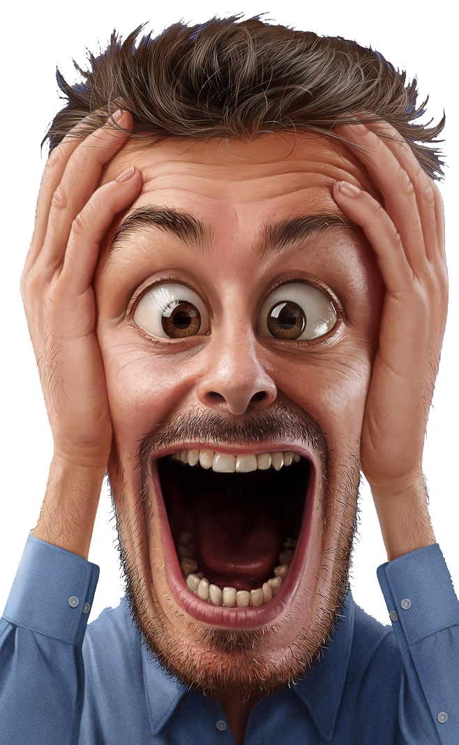 FIFA 18 Just for Laughs Comedy Festival FIFA 17 BatDad Just for Laughs: Gags, Men's expression of surprise, men's blue dress shirt illustration, face, people, smiley png free png download