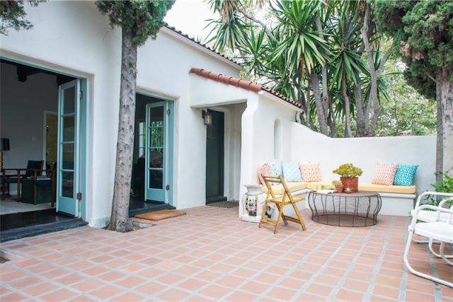 deco vintage de estilo mid century para una casa en Los Ángeles chicanddeco