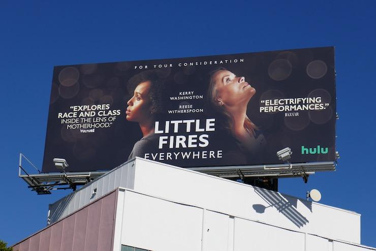 Little Fires Everywhere FYC billboard