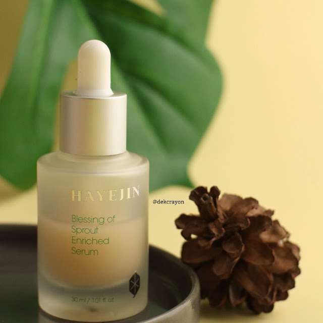 hayejin blessing of sprout enriched serum review