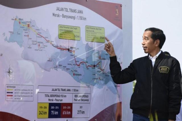 Jokowi Dituding 'Korbankan' BUMN demi Proyek Tol dan BBM 1 Harga
