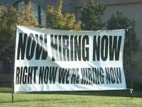 Now hiring now