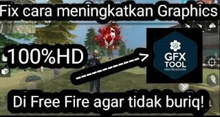 Cara Menggunakan GFX Tool di Free Fire