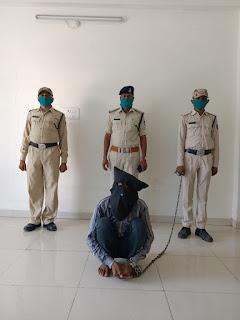 रापी गेंग का पर्दाफाश मुख्य सरगना को पुलिस ने किया गिरफ्तार
