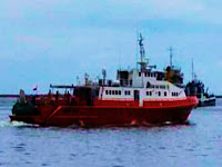 3 Hari Terombang-Ambing Diperairan Kalmas, Kapal Pesiar KM Lady Nathalia Dievakuasi