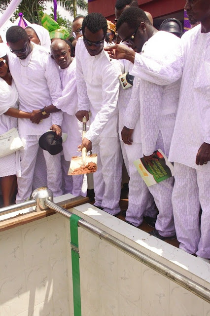 psquare mothers burial anambra