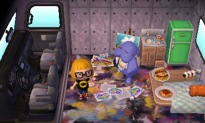 Wendell S Painting Animal Crossing
