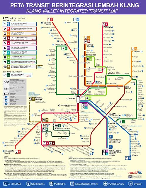 map transit rapidkl