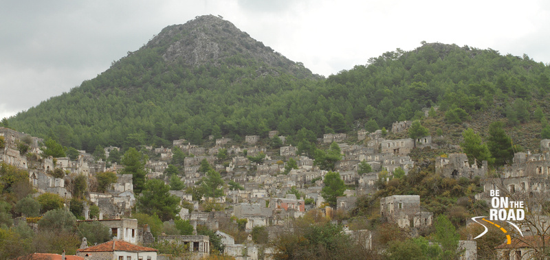 Ghost Town of Kayakoy, Turkey