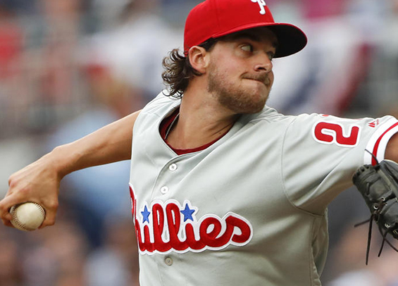 Aaron Nola looks to give Philadelphia a split in LA