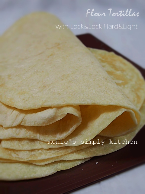 homemade tortillas dengan hard&light pan