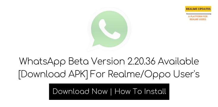 WhatsApp Beta Version 2.20.36 Available [Download APK]