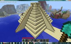 minecraft building pyramid cool sand creations improvements chance had would minecraftbuild3 follow