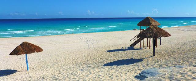 Culinária entorno da Playa Delfines em Cancún