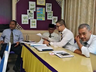 Sebahagian Pegawai SISC+ Kubang Pasu yang hadir bagi sesi kunjung bantu dan perkongsian ini