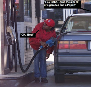 black_woman_pumping_gas
