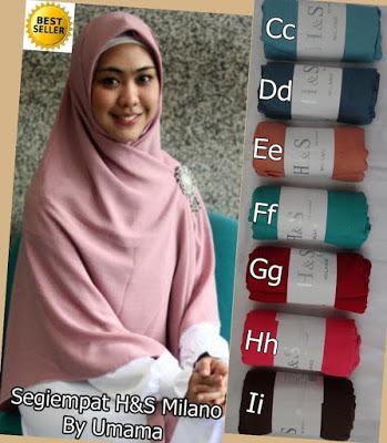 Model Jilbab Terbaru Segiempat Oki Setiana Dewi