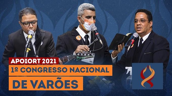 1º Congresso de Varões é marcado por reabrir maratona de Congressos da APOIORT