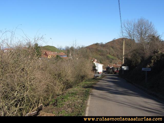 Area Buyera, picos Grandamiana y Plantón: Entrando en Linares