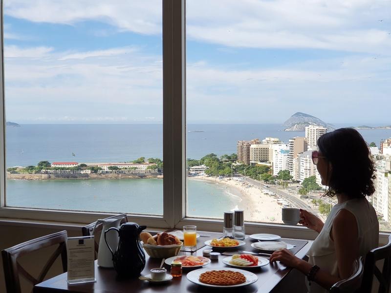 Hotel Frente mar Copacabana