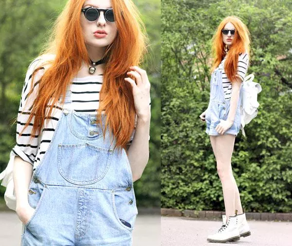 How to combine trendy fashion overalls