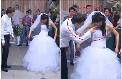11 مليون مشاهدة لفيديو لاغرب مافعله عرسان  فى حفل زفافهم واذهلوا الجميع !