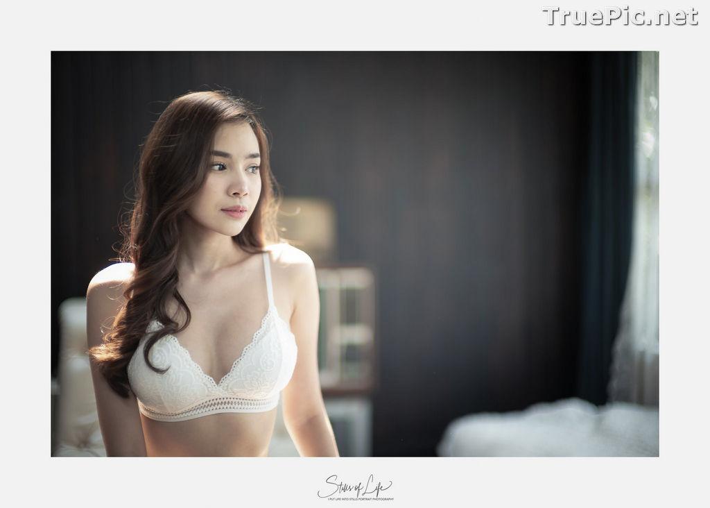 Image Thailand Model - Wisansaya Pakasupakul - White Lingerie and Black Monokini - TruePic.net - Picture-6