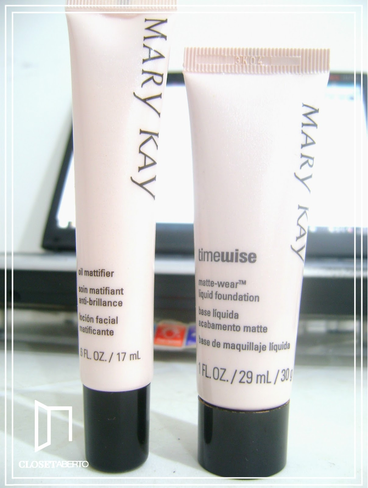 Resenha loção matificante Mary Kay | oil mattifier, produto matificante