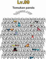 Brain Out : Temukan Panda Brain Out Jawaban di Level 99