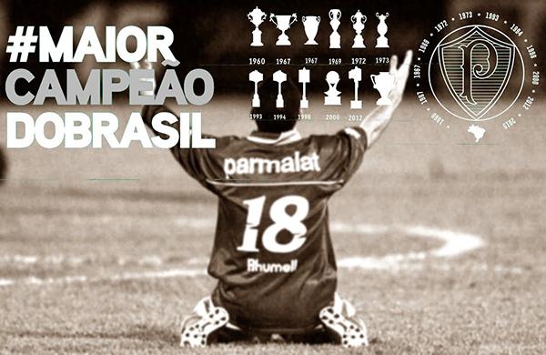 Palmeiras, maior campeão nacional