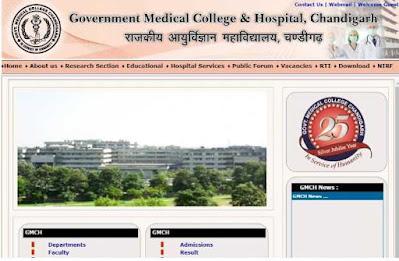 Chandigarh Administration Sarkari Naukri 2020 Recruitment For 41 Senior Resident And Mo Post In GMCH   Sarkari Jobs Adda