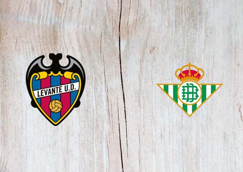 Levante vs Real Betis -Highlights 29 December 2020
