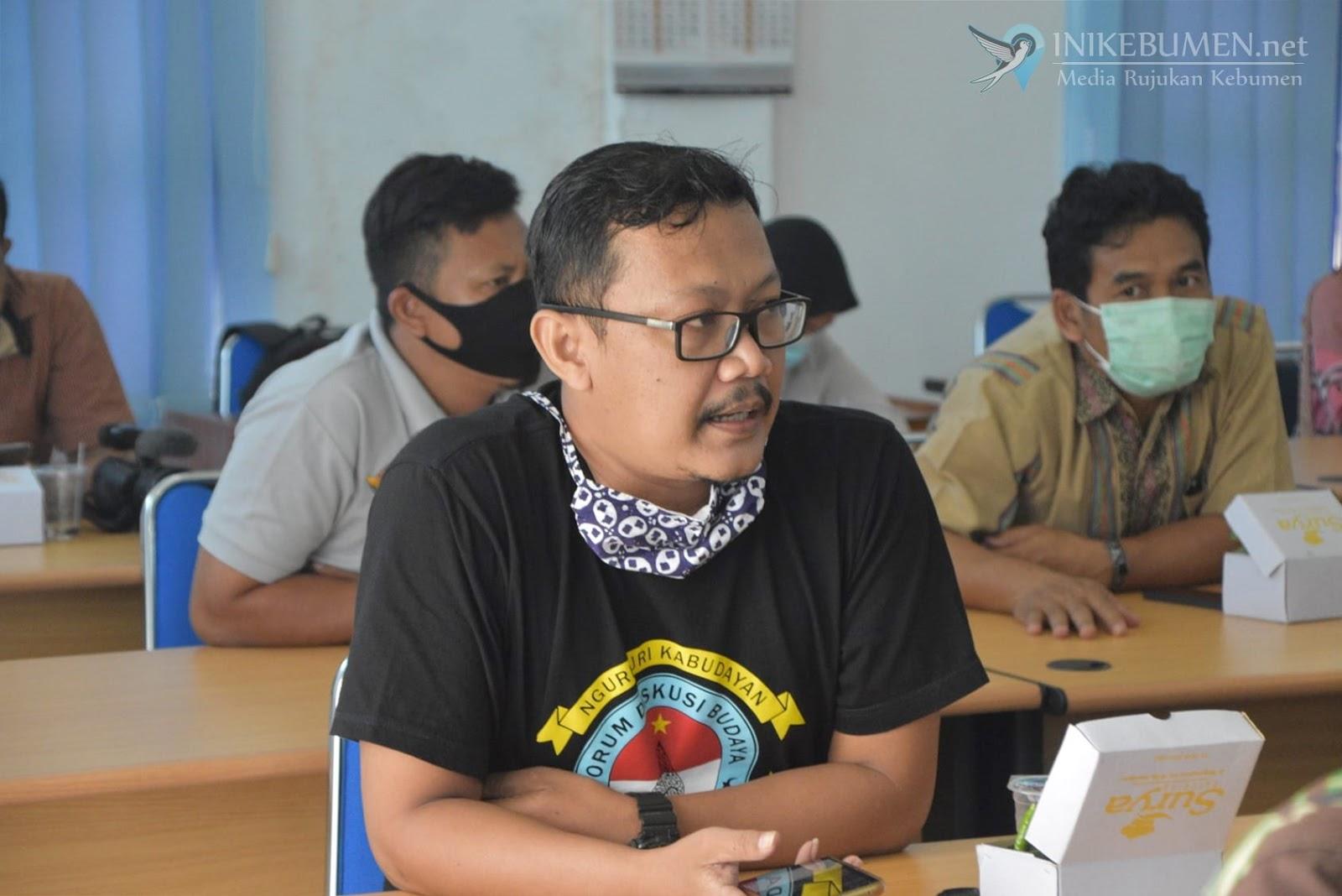 Massifkan Sosialisasi, KPU Kebumen Gelar Gathering dengan Media
