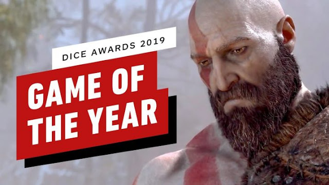 God Of War - The Absolute Winner at DICE Awards 2019