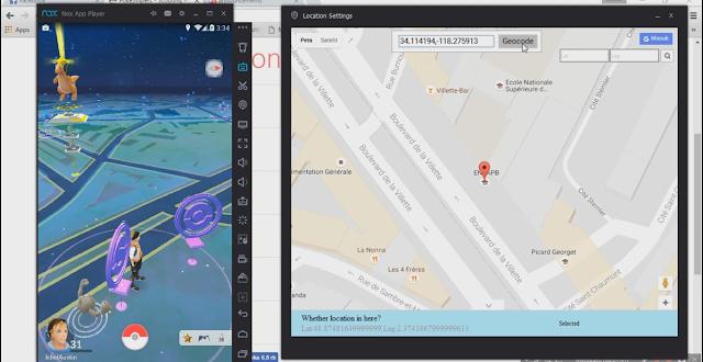 Cara Menggunakan Pokesniper Manual di Nox, Cara Menggunakan Pokesniper Manual Fake GPS, Cara Menggunakan Pokesniper di NOX Work.