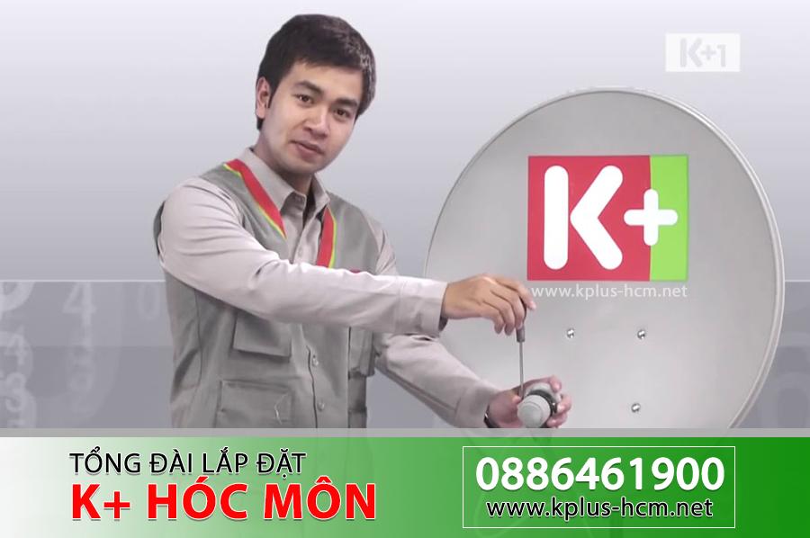 Đơn vị lắp đặt Truyền hình K+ tại Hóc Môn TP.HCM