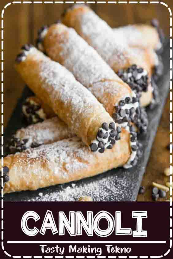 Cannolis are one of my favorite Italian dessert recipes! My homemade cannolis start with a scratch made shell filled with the best creamy filling!