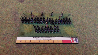 A 6mm scale French infantry Brigade from 1815