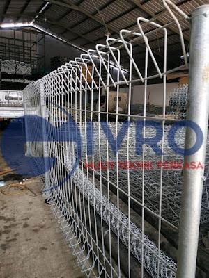 Pabrik Pagar BRC Jakarta Termurah