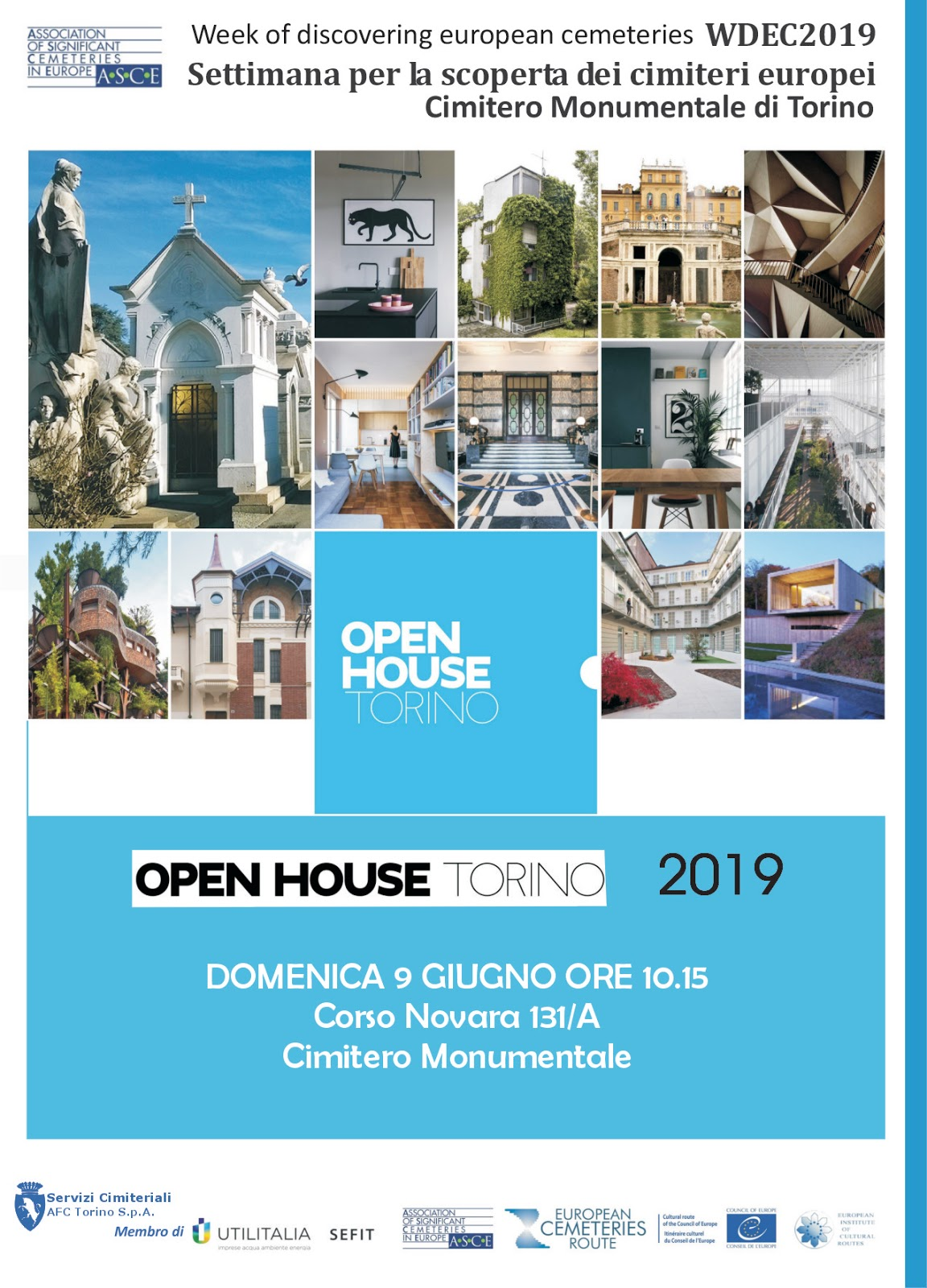 Association of Significant Cemeteries of Europe: WDEC 2019 OPEN