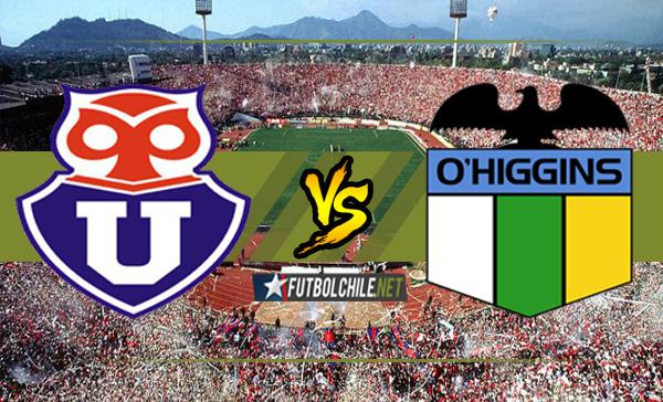 Universidad de Chile vs O'Higgins