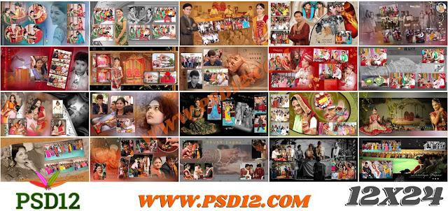 12x24 Photo Album PSD Download